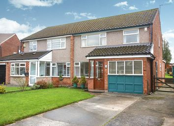 Thumbnail 3 bed semi-detached house for sale in Hatchmere Close, Cheadle Hulme, Cheadle