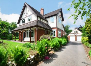 Thumbnail 4 bed detached house for sale in Stallington Road, Blythe Bridge