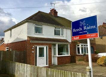 Thumbnail 3 bed semi-detached house for sale in Ashenden Avenue, Rye