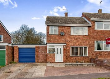 Thumbnail 3 bedroom semi-detached house for sale in Bockhill Road, Bury St. Edmunds