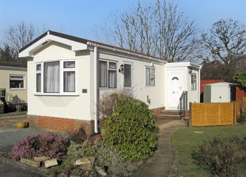 Thumbnail 1 bed mobile/park home for sale in Roundstone Park, Worthing Road, Southwater, Horsham, West Sussex
