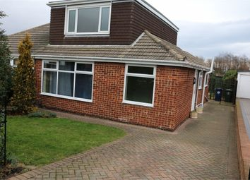 Thumbnail 3 bedroom semi-detached bungalow for sale in Ripon Way, Eston, Middlesbrough