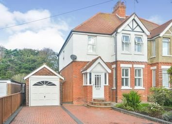 Thumbnail 3 bed semi-detached house for sale in Hasborough Road, Folkestone
