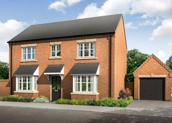 Thumbnail 4 bed detached house for sale in Leicester Road, Melton Mowbray