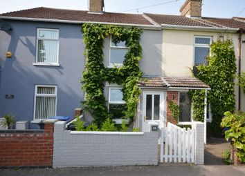 Thumbnail 2 bed terraced house for sale in Dell Road, Oulton Broad, Lowestoft