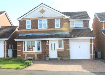 Thumbnail 4 bed detached house for sale in Lapwing Court, Burnopfield, Newcastle Upon Tyne