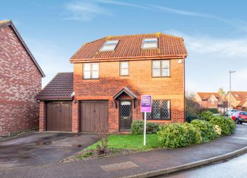 Thumbnail 5 bed detached house for sale in Norfolk Chase, Bracknell