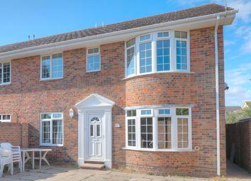 Thumbnail 5 bed semi-detached house for sale in Cornfield Close, Wick, Littlehampton