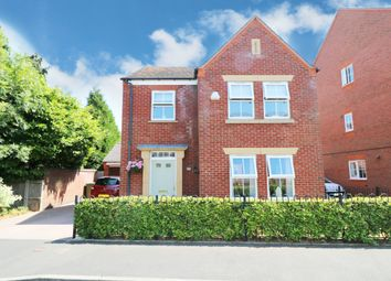 Thumbnail 4 bed detached house for sale in Three Acres Lane, Dickens Heath, Shirley, Solihull
