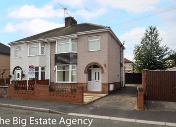 Thumbnail 3 bedroom semi-detached house for sale in Connaught Avenue, Shotton, Deeside
