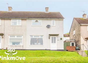 Thumbnail 2 bed semi-detached house for sale in Brynglas Drive, Newport
