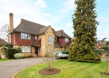 Thumbnail 5 bed detached house for sale in Cricket Way, Weybridge, Surrey