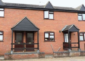 Thumbnail 2 bed terraced house to rent in High Street, Harrold, Bedford