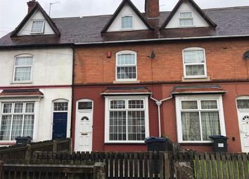 Thumbnail 3 bed terraced house to rent in Richmond Avenue, Homer Street, Birmingham