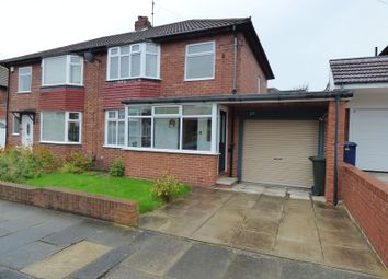 Thumbnail 3 bedroom semi-detached house for sale in Slingsby Gardens, Cochrane Park, Newcastle Upon Tyne