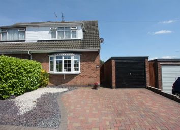 Thumbnail 3 bed semi-detached house for sale in Lime Grove, Earl Shilton, Leicester