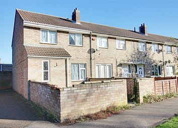 Thumbnail 3 bed end terrace house for sale in Beech Close, Huntingdon