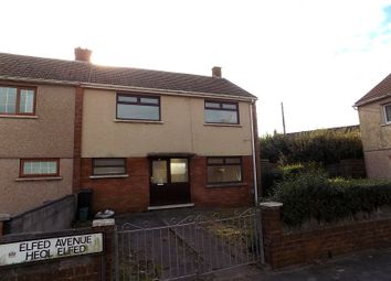 Thumbnail 3 bed semi-detached house for sale in Elfed Avenue, Little Warren, Port Talbot, Neath Port Talbot.