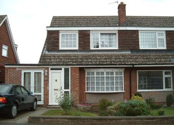 Thumbnail 3 bed semi-detached house to rent in Hoylake Drive, Mickleover, Derby
