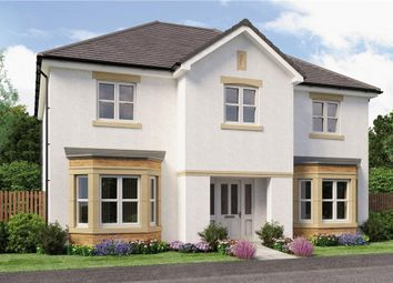 "Thumbnail 5 bed detached house for sale in ""Chichester"" at Broomhouse Crescent, Uddingston, Glasgow"