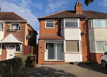 Thumbnail 3 bed semi-detached house to rent in Newborough Road, Shirley, Solihull