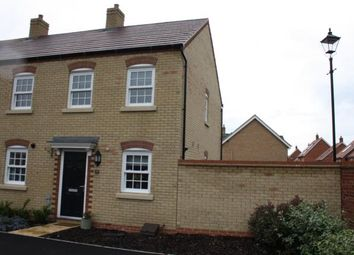 Thumbnail 2 bedroom end terrace house for sale in Carding Way, Kempston, Bedford, Bedfordshire