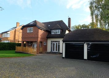 Thumbnail 4 bedroom detached house to rent in Kimbolton Road, Bedford