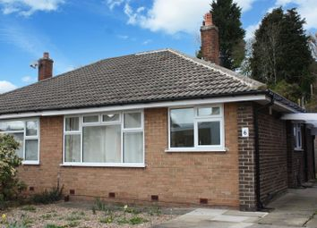 Thumbnail 2 bed semi-detached bungalow for sale in Layton Park Close, Rawdon, Leeds