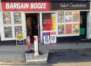 Thumbnail Retail premises for sale in Bargain Booze PL7, Plymouth