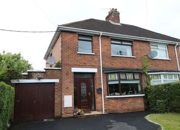 Thumbnail 3 bed semi-detached house for sale in Causeway End Road, Ballinderry Upper, Lisburn