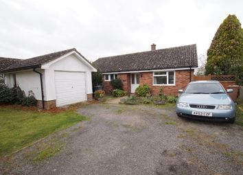 Thumbnail 3 bedroom detached bungalow for sale in The Street, Eyke, Woodbridge
