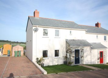 Thumbnail 3 bed semi-detached house to rent in Pen Y Morfa Close, St. Mawgan, Newquay