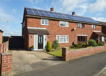 Thumbnail 4 bed semi-detached house for sale in Anzio Crescent, Lincoln