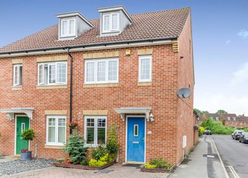Thumbnail 3 bed semi-detached house for sale in Borden Way, North Baddesley, Southampton