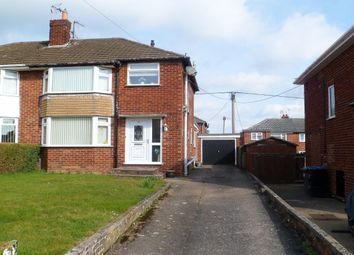 Thumbnail 3 bed semi-detached house for sale in Bangor Road, Johnstown, Wrexham