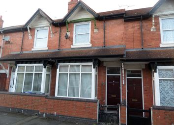 Thumbnail 3 bed terraced house to rent in Claremont Road, Smethwick