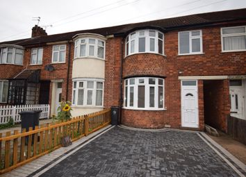 Thumbnail 3 bed terraced house for sale in Green Lane Road, Evington, Leicester, Leicestershire