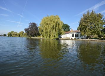Thumbnail 4 bed detached bungalow for sale in Pharaohs Island, Shepperton