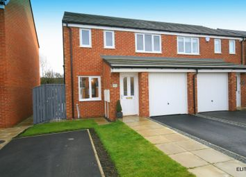 Thumbnail 3 bed semi-detached house for sale in Grange Way, Bowburn, Durham
