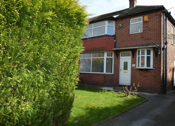Thumbnail 3 bed semi-detached house to rent in Thatch Leach Lane, Whitefield, Manchester