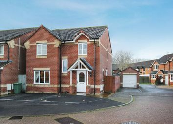 Thumbnail 4 bed detached house for sale in Drum Avenue, Glastonbury