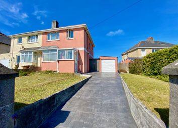 Thumbnail 3 bed semi-detached house for sale in Randwick Park Road, Plymstock, Plymouth