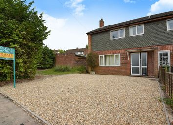 Thumbnail 3 bed end terrace house for sale in Larch Drive, Kingsclere, Newbury