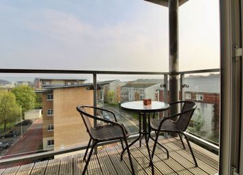 Thumbnail 1 bedroom flat for sale in Heol Staughton, Cardiff Bay, Cardiff