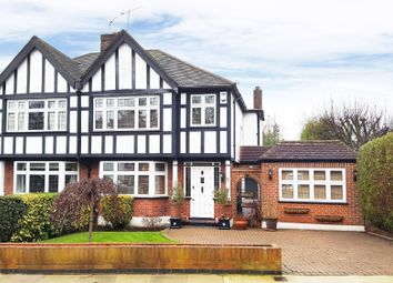 Thumbnail 4 bed semi-detached house for sale in Rodney Gardens, Eastcote, Pinner