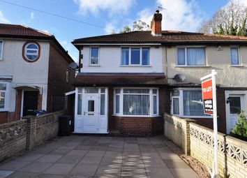 Thumbnail 3 bed semi-detached house to rent in Thurlestone Road, Longbridge, Birmingham
