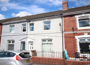 Thumbnail 3 bed terraced house for sale in Grove Road, Risca, Pontymister, Newport