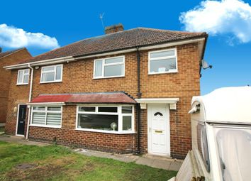 Thumbnail 3 bed semi-detached house for sale in Lee Road, Calverton, Nottingham
