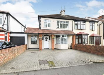 Thumbnail 3 bed semi-detached house for sale in Fairkytes Avenue, Hornchurch