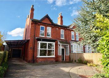 Thumbnail 4 bed semi-detached house for sale in Church Road, Lincoln